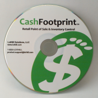 CashFootprint Professional Point-of-Sale Software for Windows, No Monthly Fee, Not Cloud Based