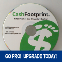Upgrade to CashFootprint Professional