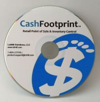 CashFootprint Standard Point-of-Sale Software for Windows, No Monthly Fee, Not Cloud Based