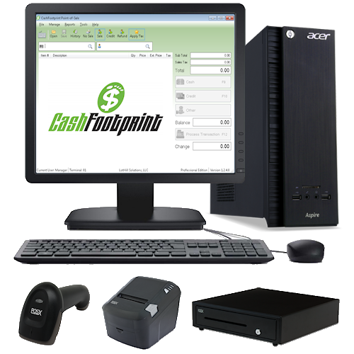 Complete Turn-key POS System w/ Hardware Kit
