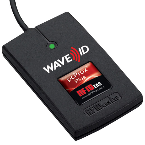 Electronic Real Id Application: TimeDrop Time Clock & PcProx Contactless RFID Badge Reader