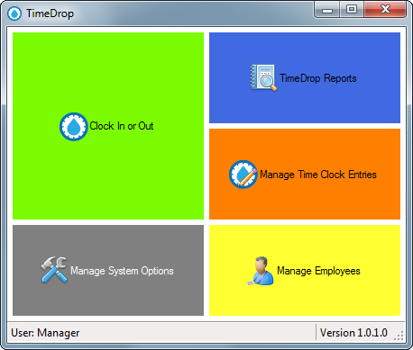 TimeDrop Time Clock Software - LotHill Solutions